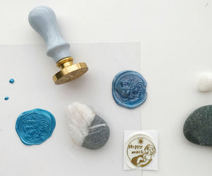 TheBoyIllustration Wax Seal Stamp