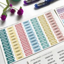 Days of the Week Covers Functional Planner Stickers