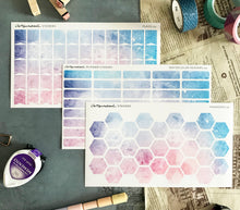Watercolor Series 2 Artsunami Planner Journaling Stickers