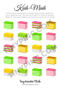 Kuih Lapis Sticker Sheet