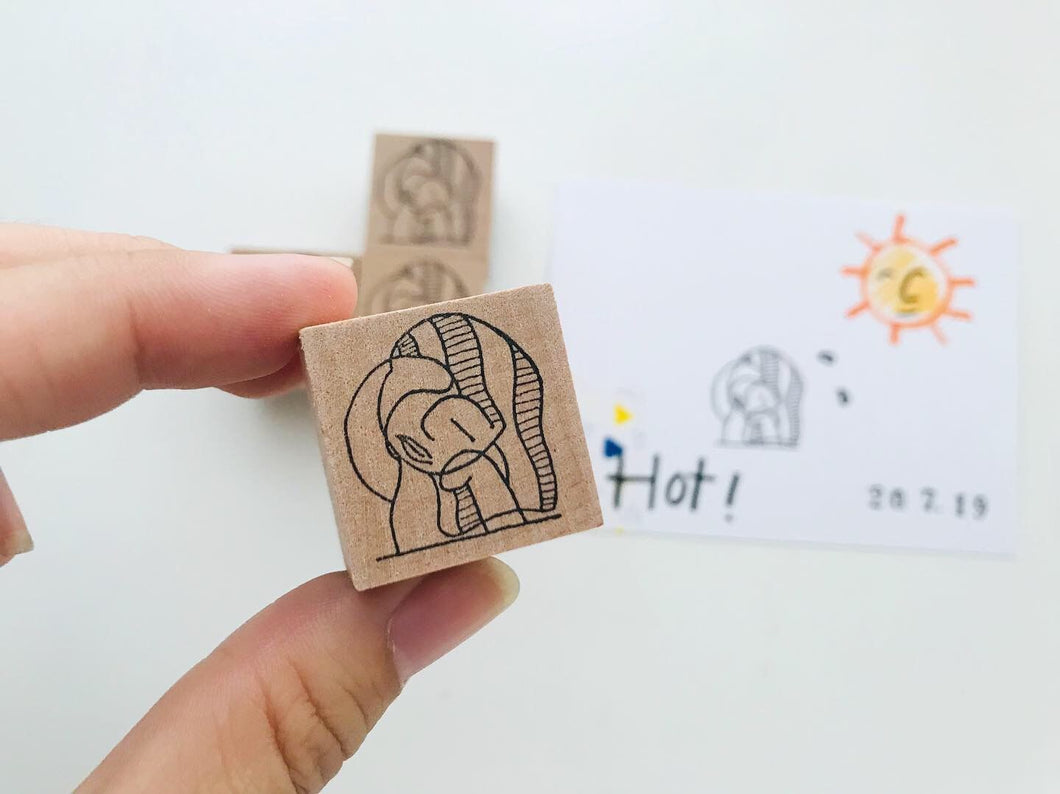 TheBoyIllustrations Rubber Stamps