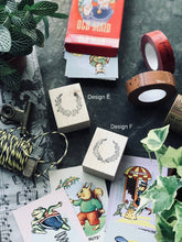 Wreath Series Rubber Stamps