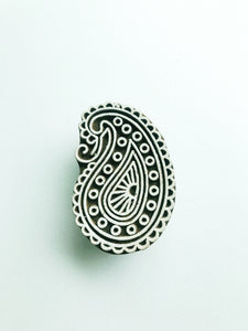 Hand Carved Wooden Stamp