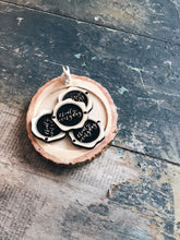 Wooden Charm - 'Create Everyday'