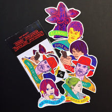 SAYWHAT? SIBEH SINGLISH STRANGER THINGS STICKERS SET B