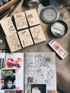 Limited Edition 'Neighbourhood' Stamp Set