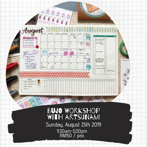 Bullet Journaling Workshop with Artsunami