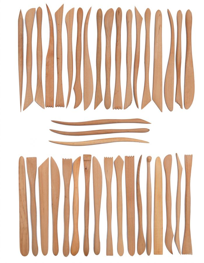 Wood Modeling Tools (38 pcs/set)