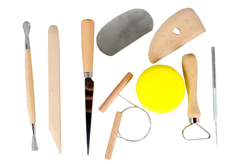 Basic pottery wheel tools