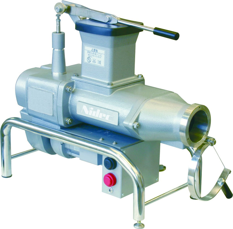 This pugmill features newly designed twin augers and a forceful direct gear driven motor. It's high quality wedging and extruding capacity produces virtually air-free clay and increases clay workability.