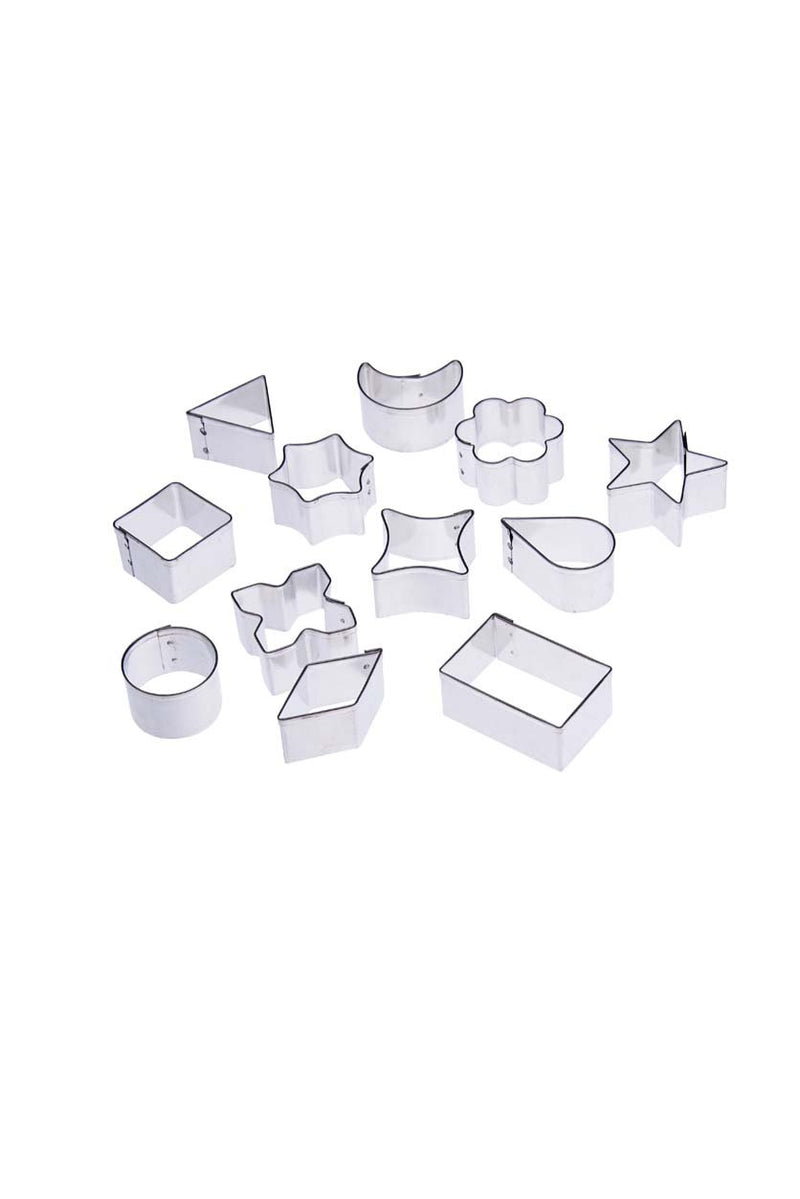 Tin plate pattern cutter- 13pcs (Assorted Set)