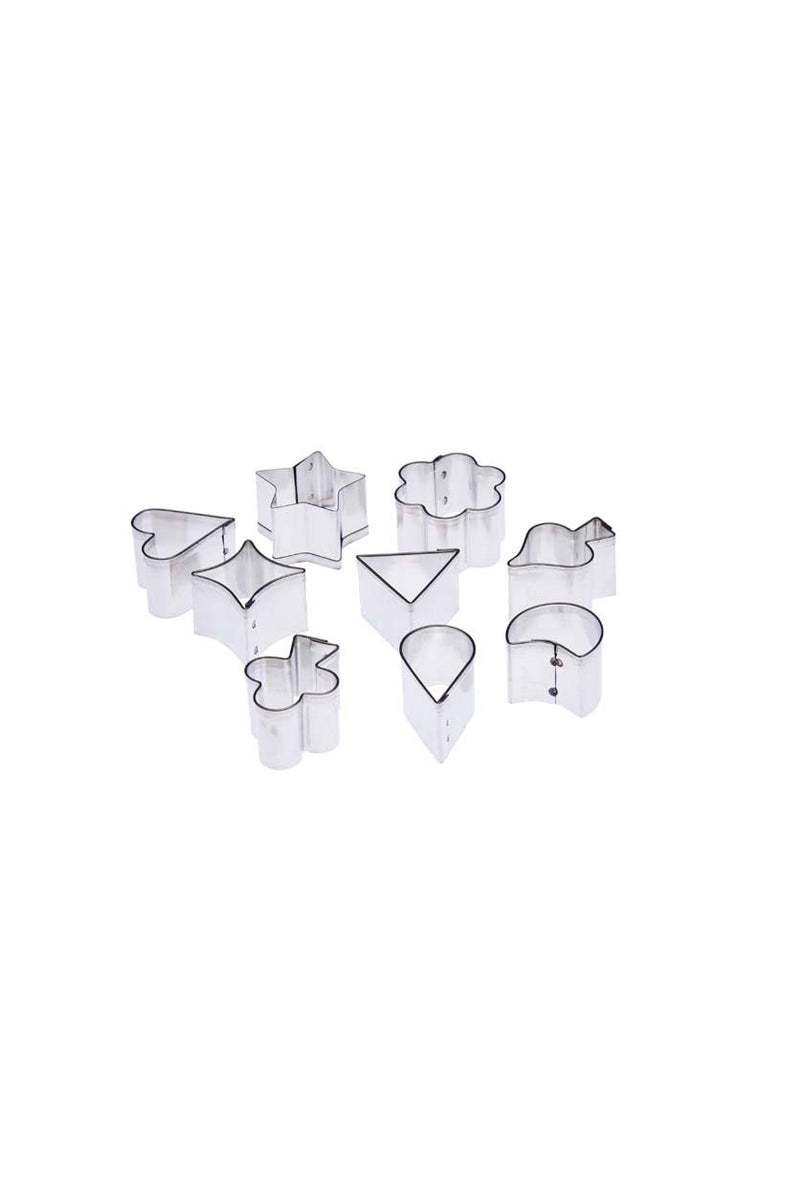 Tin plate pattern cutter- 9pcs (Assorted Set)
