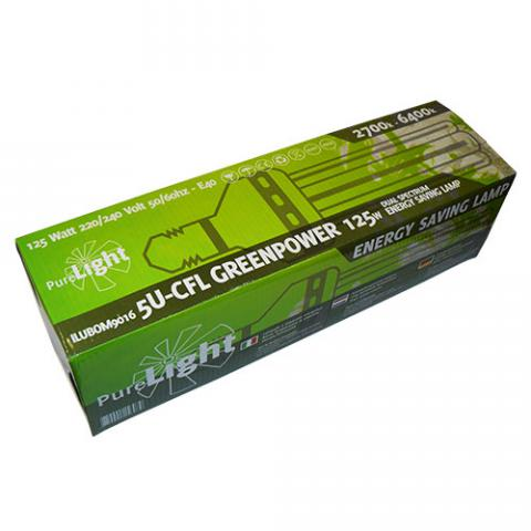 Pure Light Set CFL 125W Greenpower 2700K-6400K