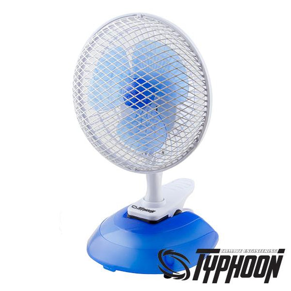 Pure Factory Clip ventilator 2u1 (15 CM) Typhoon