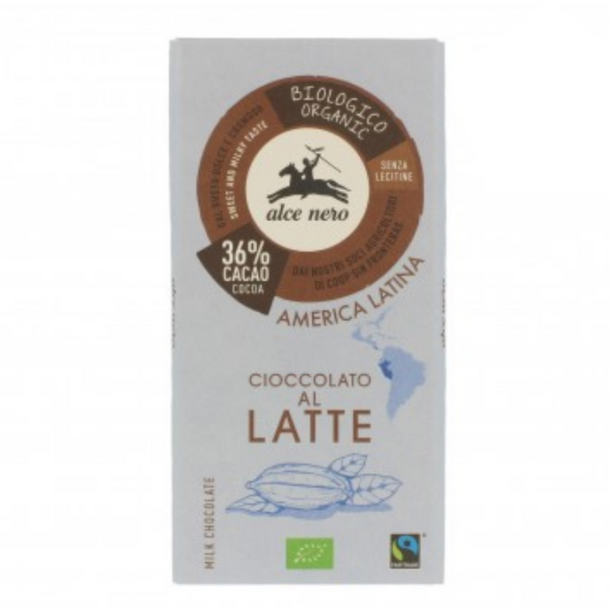 Tablete de chocolate de leite (36% cacau)