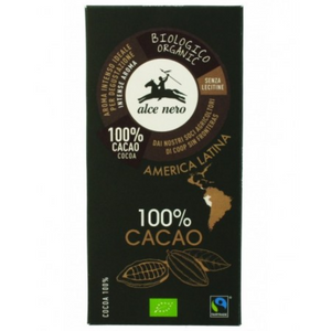 Tablete de chocolate negro (100% cacau) 50g