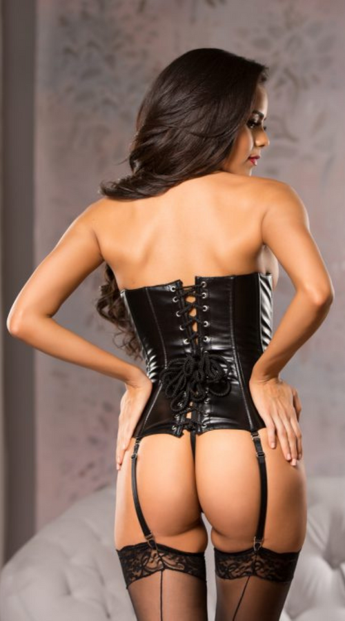 Underbust Corset in Black