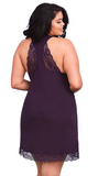 Soft Jersey Chemise in Purple