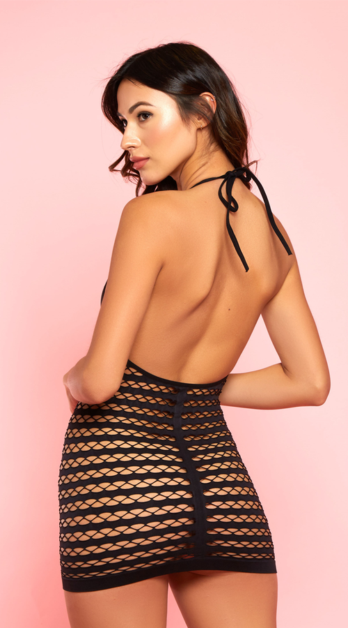 Spicy Lost In You Black Chemise