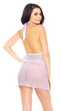 Side Opening Babydoll in Lilac