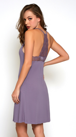 Soft Olivia Chemise in Purple