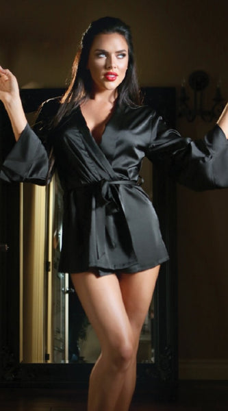 Fantasy Robe in Black