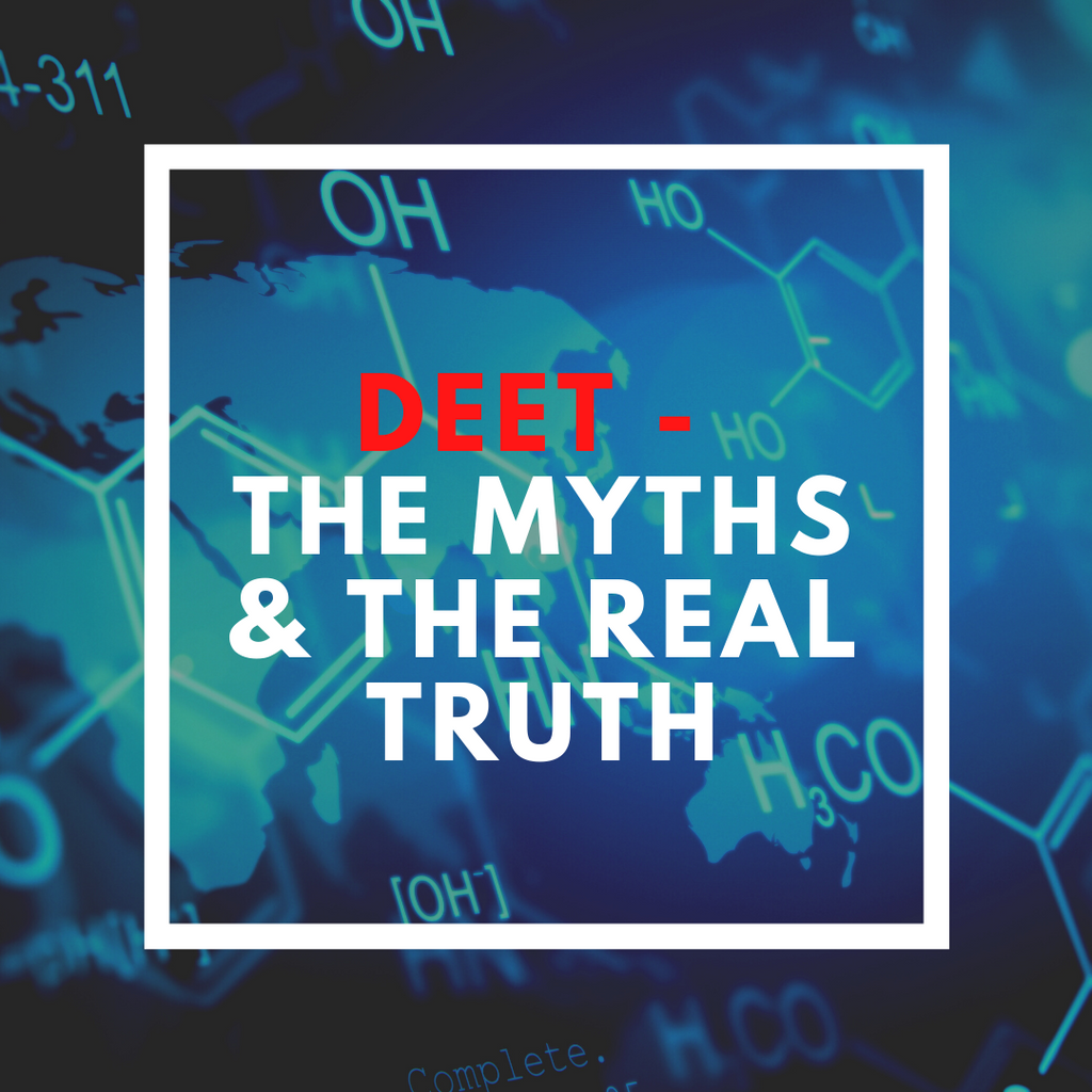 All about DEET - the myths and the real truth