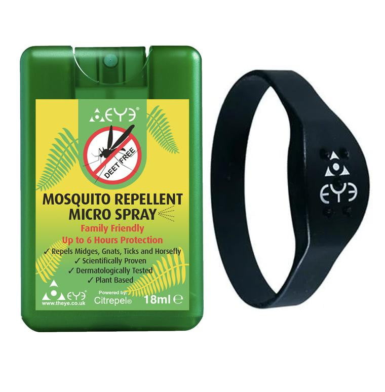 Mosquito Repellent Micro Spray & Band