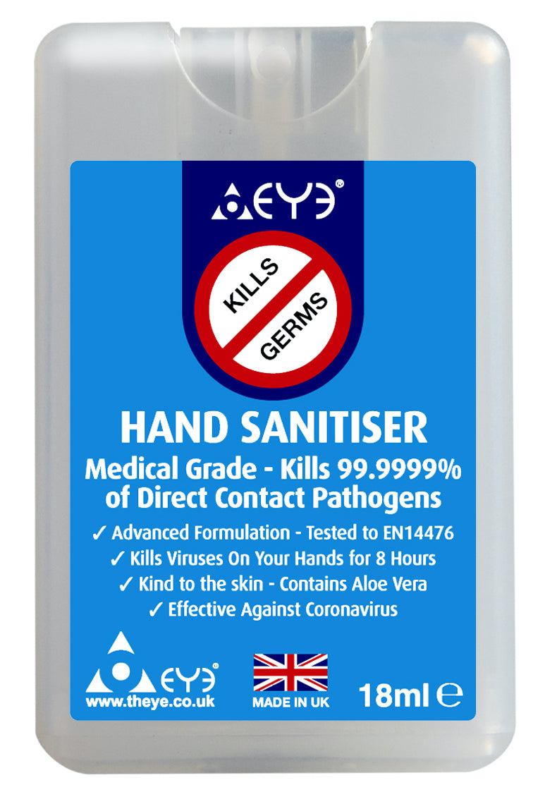 3 x Hand Sanitiser Micro Spray 18ml