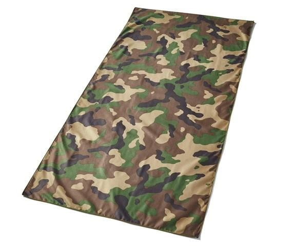 Compact Beach Towel - Camouflage (Green)