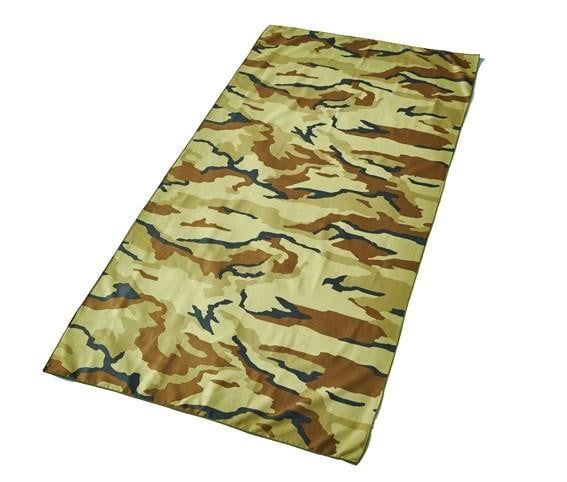 Compact Beach Towel - Camouflage (Brown)