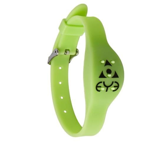 Mosquito Repellent Adjustable Wrist Band - Green