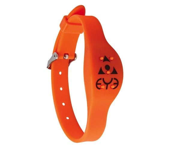 Mosquito Repellent Adjustable Wrist Band - Orange