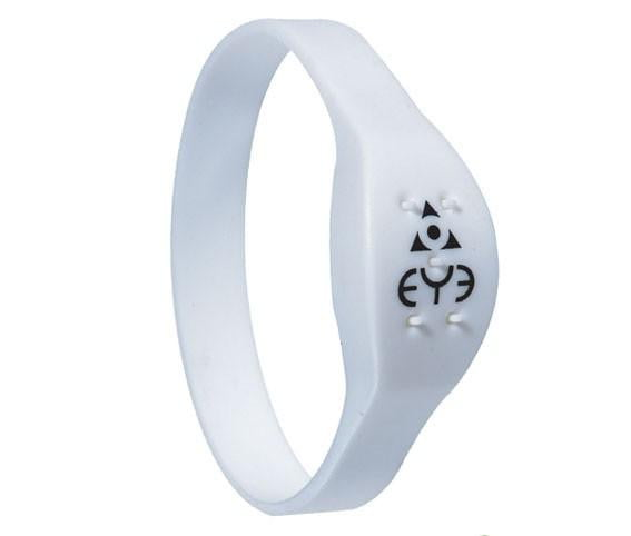 Mosquito Repellent Wrist Band - White