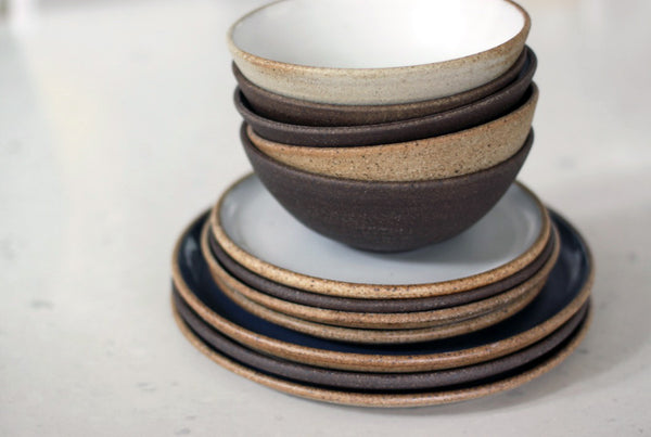 London Clay Plates and Bowls