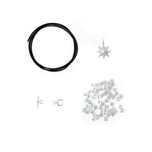 Barcelona DIY Bracelet Kit - Silver (Single)