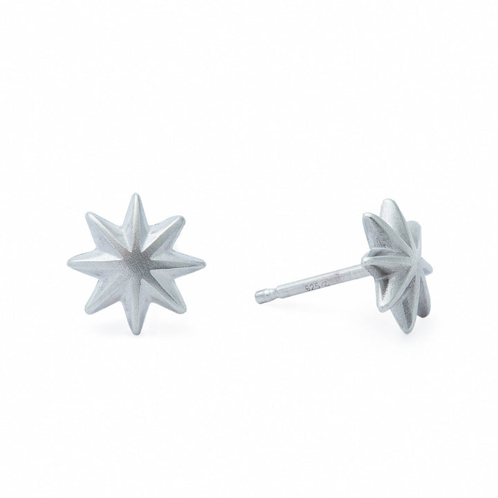 Estrella Menuda Earrings - Silver