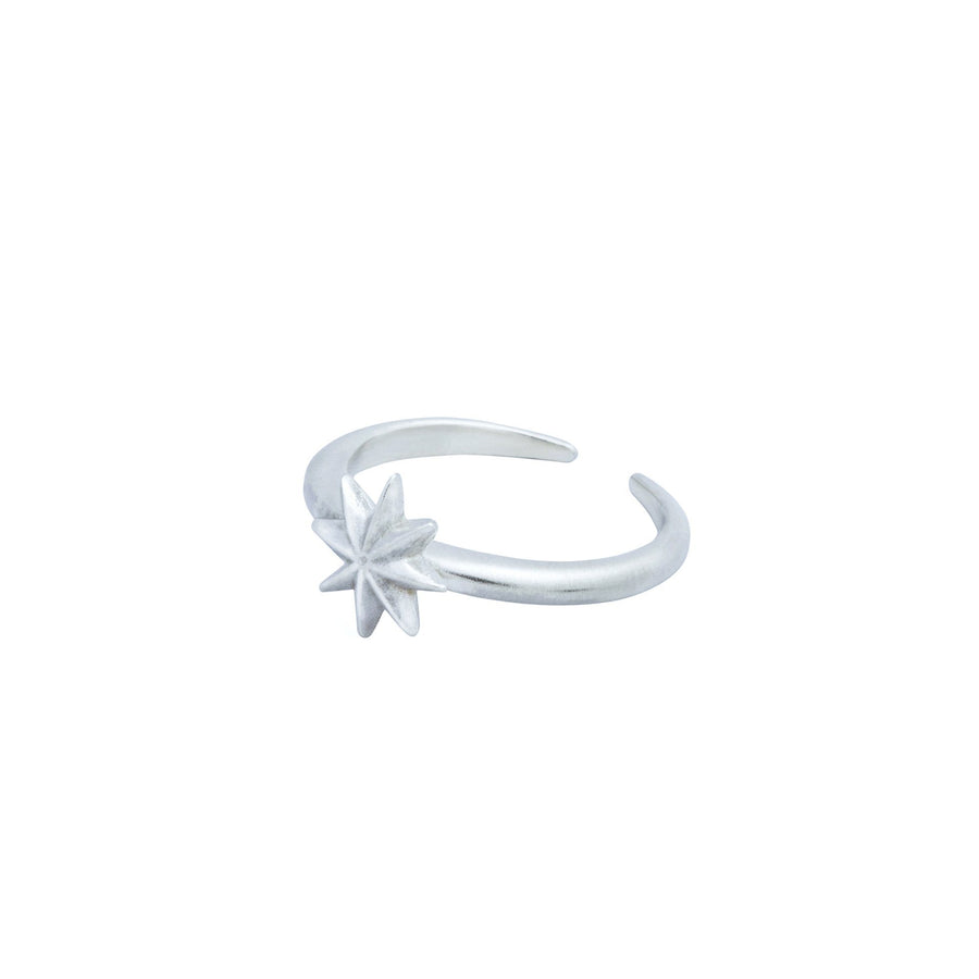 Estrella Adjustable Ring - Silver