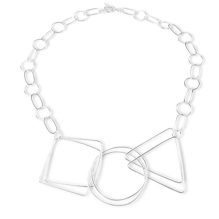 Geometry Necklace - Silver