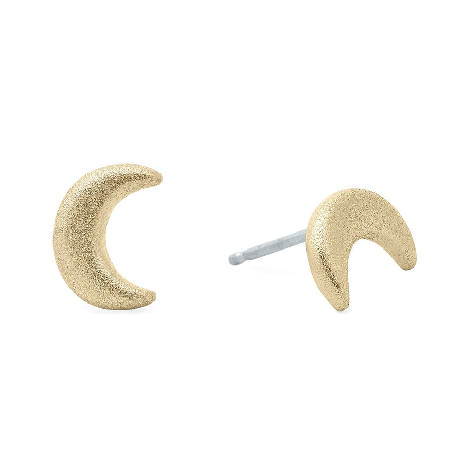 Luna Creciente Earrings - Bronze