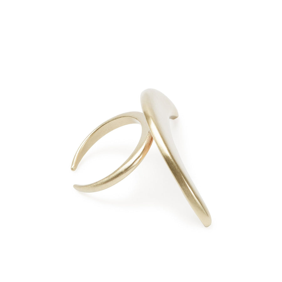 Luna Creciente Statement Ring - Bronze