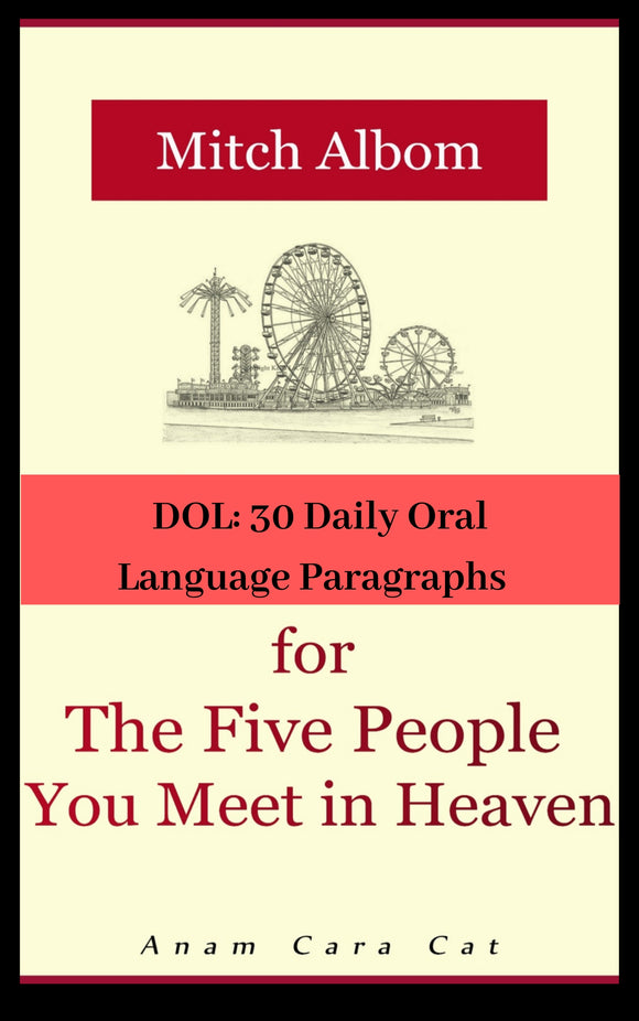30 DOL for The Five People You Meet in Heaven | Secondary Daily Oral Language