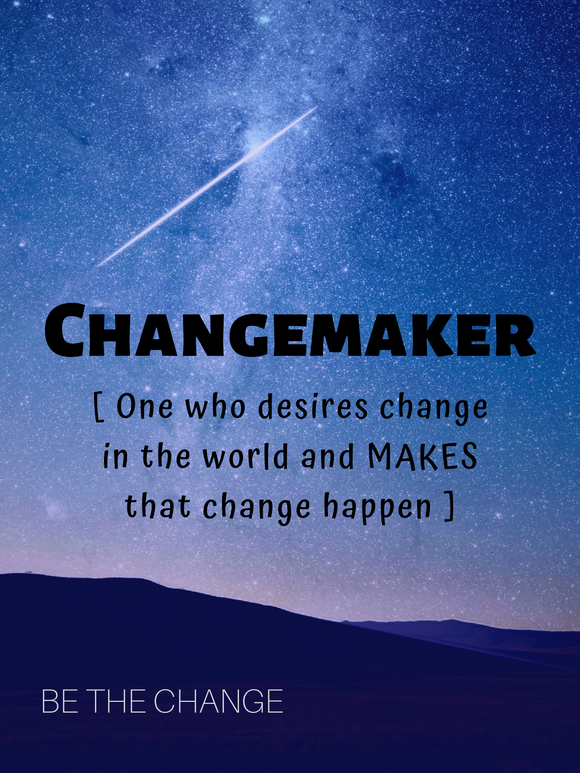 Free Download: ChangeMaker or Passion Project Poster