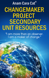 ChangeMaker or Passion Project | Secondary Unit | Project Based Learning | PBL