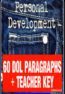 DOL | Daily Oral Language | Bell Ringer | 60 Paragraphs + KEY Grammar Mechanics--GRADES 7-12