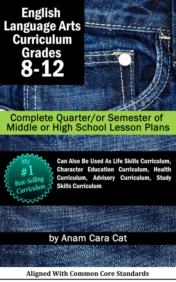 Secondary Lesson Plans for Life Strategies for Teens + The Five People You Meet in Heaven Bundle | 17 WEEKS of DAILY LESSON PLANS--GRADES 8-12 --NO PLANNING FOR  4 MONTHS!