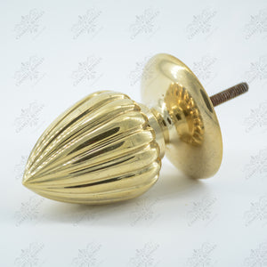 """1992"" Spandrel Brass Finials"