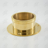 Polished Brass 2 Piece Unscrewing End Socket