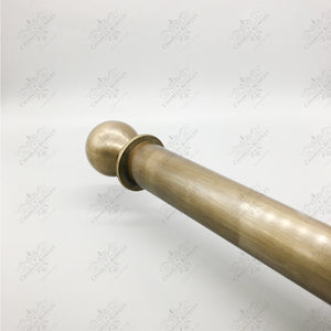Brass Pole (19mm Diameter)