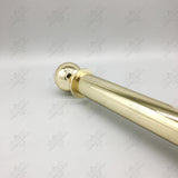 Brass Pole Set (65mm Diameter)